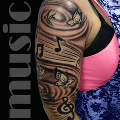 Music Tattoo Designs And Meaning | Full Tattoo