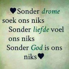 Sonder...# Afrikaans #madeitmyown