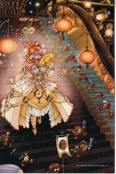 Cinderella Dress Magnet - Girl Genius