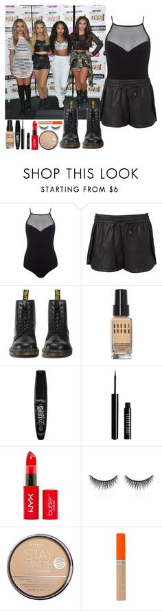 """""""5th member of Little Mix - Hallam summerlive"""" by elliefeatherstone ❤ liked on Polyvore featuring Miss Selfridge, Witchery, Dr. Martens, Bobbi Brown Cosmetics, Rimmel, Lord & Berry and shu uemura"""