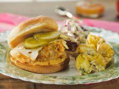 """Barbie-Q"" Chicken Sliders recipe from Trisha Yearwood via Food Network"