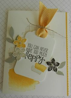 March 16, 2014 Hill Country Stampin': Happy Colors!
