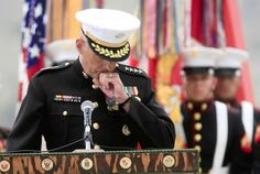 After writing scores of condolence letters, Marine Gen. John Kelly thought he knew something about the pain of having a son killed during war. Then his own son was killed in combat in Afghanistan in 2010 & Kelly found the pain more scorching & paralyzing than he had ever imagined. At the unveiling of a memorial to 89 Marines & sailors from the 5th Mar Reg killed in Afghanistan, Kelly made a personal offer of regret to the Gold Star family members