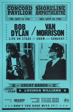 Bob Dylan Poster - Rock posters, concert posters, and vintage posters from the… Rock Posters, Band Posters, Music Posters, Vintage Concert Posters, Vintage Posters, Bob Dylan Poster, Rock Concert, Shows, Sound Of Music