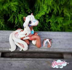 Rain - Spirit inspired Native American Indian war Filly Pinto  By Whisper Fillies Whisperfillies.etsy.com Unique handmade polymer clay horse, pony, unicorn and fantasy creatures  Find me on Instagram and Facebook too!