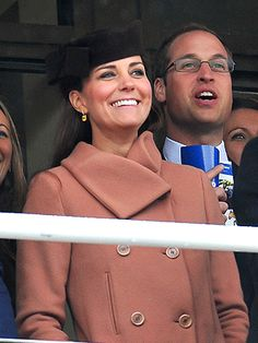 Pregnant Kate Steps Out at the Horse Races| Babies, The British Royals, The Royals, Kate Middleton, Prince William