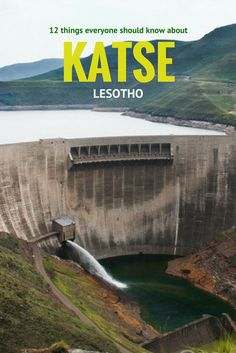 It's hard to resist the fascination of Lesotho's Katse dam project once you consider some of these facts that everyone should know. Places To Travel, Places To Go, All About Africa, Africa Destinations, Holiday Destinations, Slow Travel, Travel Tips, Travel Guides, Safari Adventure