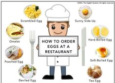 How to order eggs at a restaurant