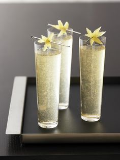 Grey Goose Le Fizz Cocktail with Elderflower Cordial