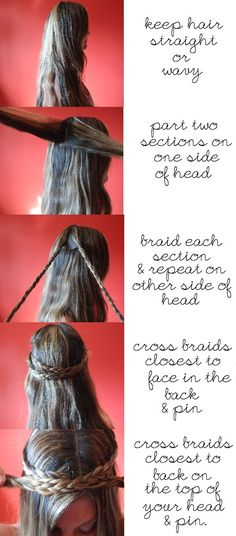 DIY Crown Braid Tutorial
