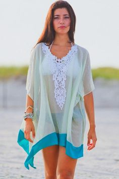 Summer women Lace beach cover up | GonChas