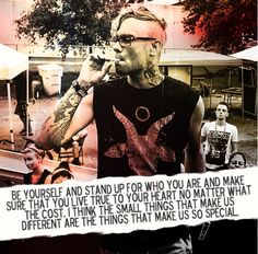 I love this man so much (Bert McCracken)