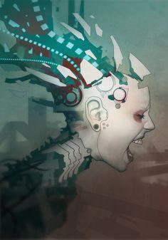 Grendel album artwork 'Timewave Zero' by *torvenius on deviantART
