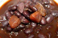 Dominican black beans recipe - Slow cooker version - Life Bites