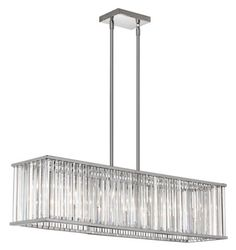 7 LIGHT CRYSTAL RODS LINEAR :: LINEAR FIXTURES <BR>(ISLAND/BILLIARD) :: Ceiling lights Toronto, Bath and vanity lighting, Chandelier lighting, Outdoor lighting and kitchen lights :: Union