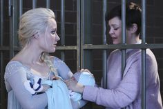 "Elsa, Mary Margaret and Baby Neal- 4* 9 ""The Fall."" #ShatteredSight #OnceisFrozen"
