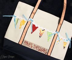 Dressing Up Dollar Store Tote Bags