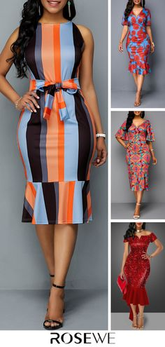 Summer Dress For Sale New arrivals are hitting the site just in time to freshen up your wardrobe! Latest African Fashion Dresses, African Print Fashion, Women's Fashion Dresses, African Attire, African Wear, African Dress, Jw Mode, Ankara Dress Styles, Classy Dress