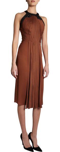 J. Mendel Pleated Halter Dress | $3,990.00 | Hmmm...