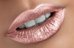 Mirror Mettalic Lipstick This is a gorgeous Silver metallic lipstick. A must have *LIMIT 2 per customer!* These color-filled formulas will glide on smooth and provide full-coverage for eye-catch Metallic Lipstick, Lipstick Art, Lip Art, Lipstick Colors, Liquid Lipstick, Lip Colors, Rose Gold Lipstick, Maybelline Lipstick, Metallic Makeup