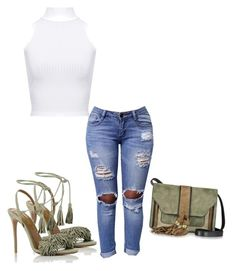 """Untitled #483"" by adsmith2321 on Polyvore featuring Aquazzura, L'Autre Chose and WearAll"
