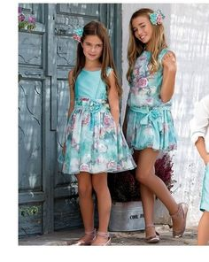 CEREMONIA ARTESANÍA AMAYA 2017 Para realizar tus compras entra en nuestra tienda online www.anabelmoda.com ¡Hacemos envíos a ... Young Girl Fashion, Tween Fashion, Toddler Fashion, Cute Girl Dresses, Cute Girl Outfits, Kids Outfits, Cute Young Girl, Cute Girls, Mode Junior