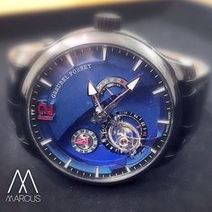 A ghostly vision of the Greubel Forsey Contemporaine unique piece for Marcus.