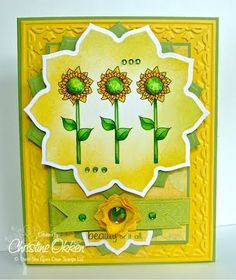 Created by Christine Okken! There She Goes, Cardmaking, Card Ideas, Cow, My Design, Stamps, Create, Garden, Artist