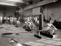 Washington, D.C. Central High School rowing class, 1925