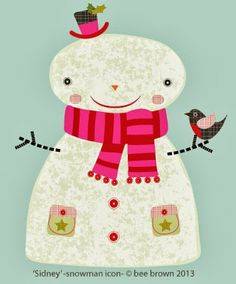bee brown's design hive: sidney snowman ...