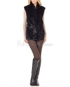 Image result for mink fur vest