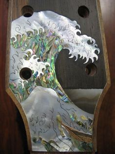 instructables how to - handcut inlay on guitars, etc.