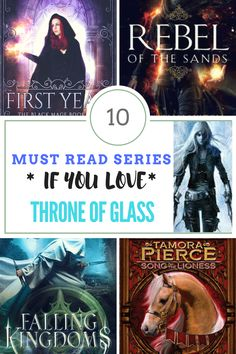 Fans of kickass heroines, princes, magic, and romance will enjoy these 10 young adult fantasy series! Includes First Year by Rachel E. Carter, Falling Kingdoms by Morgan Rhodes, Alanna by Tamora Pierce, and more book recommendations with buy links!