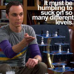 Sheldon Cooper ..so funny