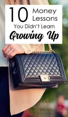 There are probably money lessons you didnt learn growing up that you wish you had. Learn which ones you missed out on here.