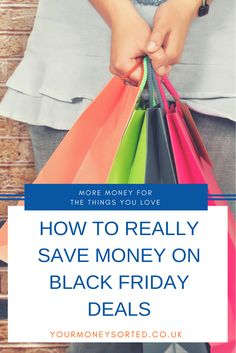 Great tips to save money on Black Friday deals