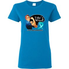 Scleroderma Take a Stand T-Shirt  #SclerodermaAwareness #rosietheriveter #takeastand