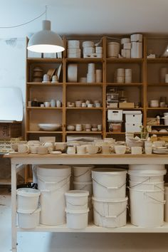 Robynn Storgaard is a Copenhagen based maker and creative working in the world of ceramics. If you've spent any amount of time feeding your interior. Pottery Workshop, Ceramic Workshop, Pottery Studio, Clay Studio, Ceramic Studio, Home Studio, Ceramic Pottery, Ceramic Art, Ceramic Shop