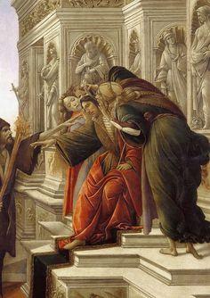 Calumny of Apelles Sandro Botticelli (Italy, (Early Renaissance) Detail King, Giorgio Vasari, Sculptures, Lion Sculpture, High Renaissance, Renaissance Paintings, Italian Painters, Great Paintings, Art Station