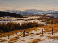 Artist: Merv Brandel, Title: The Foothills - click on image to enlarge