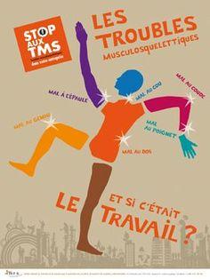 Stop aux TMS. Les troubles musculosquelettiques, et si c'était le travail ?