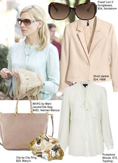 cate blanchett blue jasmine wardrobe | Get Cate Blanchett's Polished Blue Jasmine Look