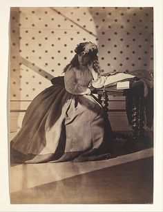 Clementina, Lady Hawarden, is a poetic, if elusive, presence among nineteenth-century photographers. As a devoted mother, her life revolved around her eight children. She took up photography in 1857; using her daughters as models, she created a body of work remarkable for its technical brilliance and its original depiction of nascent womanhood.