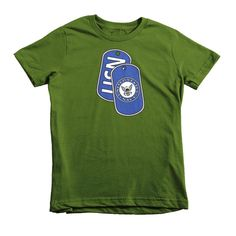 This is the kids' version of American Apparel's most popular adult t-shirt. It features durable ribbed neckband and a double-needle bottom hem and sleeves. You may also like our Navy Mug • 100% jersey