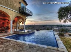 Another beautiful pool in Boerne, TX | Beautiful home for sale