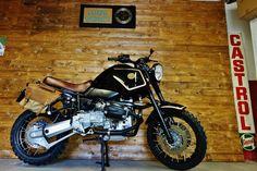 BMW GS Urban Scrambler by Officine Sbrannetti #motorcycles #scrambler #motos   caferacerpasion.com