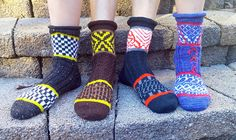 Dont tread on my toes , socks by Heidi Lenore