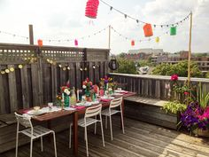 SPACES: Summer Rooftop Dinner & Style at Home http://thesweetescape.ca/2015/04/spaces-summer-rooftop-dinner-style-at-home.html