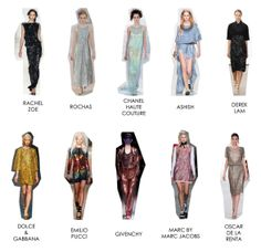 SS 14 Trends - Sequins.