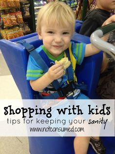 Grocery shopping with kids...because sometimes you have to!